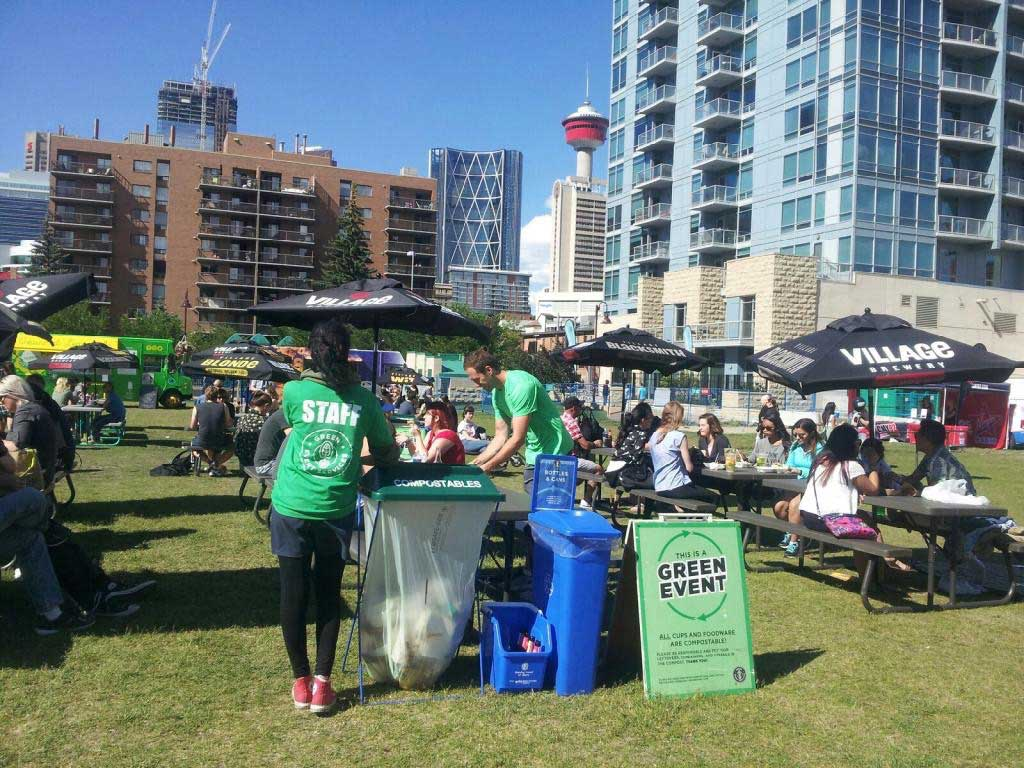 No Waste Event Green Event Services Calgary